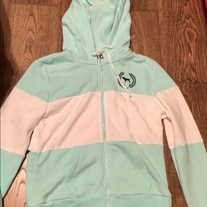 victoria's secret pink jacket sized medium